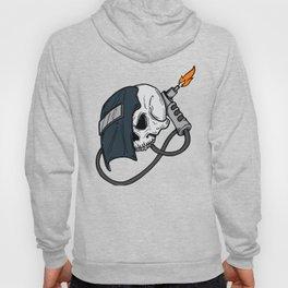 Skull Welding Mask Welder Gift Hoody