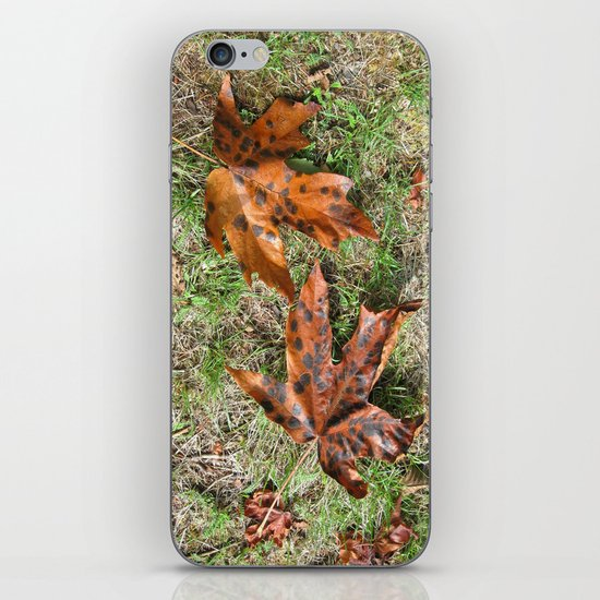 Fall Is Spot On iPhone Skin