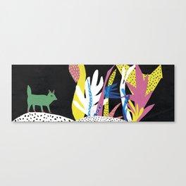 Fox Jungle Canvas Print
