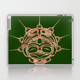 Copper Frog Grass Laptop & iPad Skin