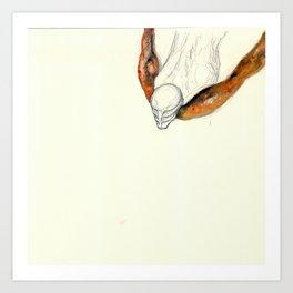 UnHuman#06 Art Print