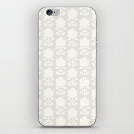 Cotton Clouds Pattern iPhone Skin