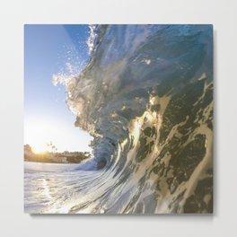 Laguna Blue Metal Print