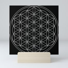 Flower of Life : Sacred Geometry Mini Art Print