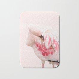 Flamingo pink Bath Mat