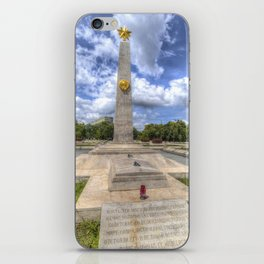 Russian World War 2 Memorial Budapest iPhone Skin