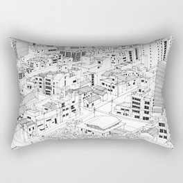 Asakusa, Japan Rectangular Pillow