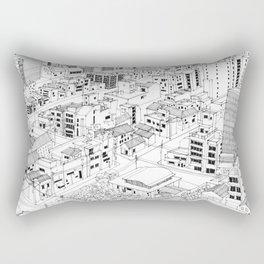 Asakusa, Japan Rectangular Pillow