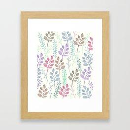 Lovely Pattern Framed Art Print