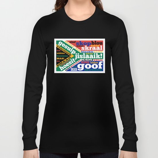 South African slang and colloquialisms Long Sleeve T-shirt