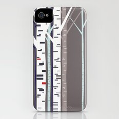 birch trees iPhone (4, 4s) Slim Case