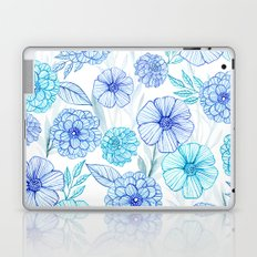 Blue garden Laptop & iPad Skin