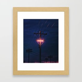 ONLINE #1 Framed Art Print