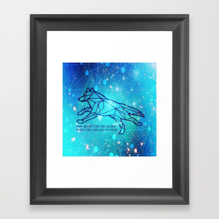 Livin in the Stars Framed Art Print