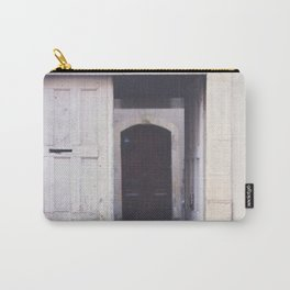 Cottage Doors in Bayeux Carry-All Pouch