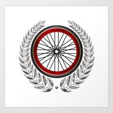 Ride On Shield  Art Print
