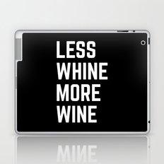 More Wine Funny Quote Laptop & iPad Skin