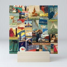Russian Travel 1 Mini Art Print