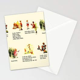 Adventures of Dick & Jane Stationery Cards