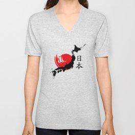 Japan Unisex V-Neck