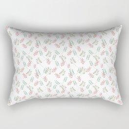 Floral Ferns Rectangular Pillow