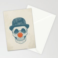 Dead clown Stationery Cards