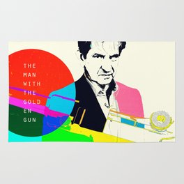 The Man With The Golden Gun Rug