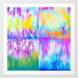 Abstract Art With Loads of Spirit Art Print