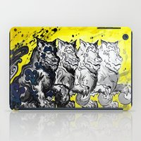 foo fighters iPad Cases featuring Unleash the Foo by RISE Arts