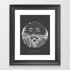 La Lune Framed Art Print