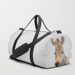 Baby Zebra - Colorful Duffle Bag