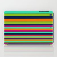 stripe iPad Cases featuring Stripe by Aimee St Hill