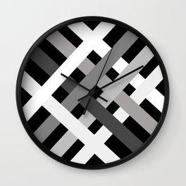 BNW Criss Cross Wall Clock