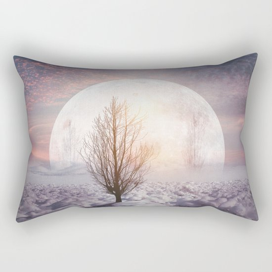 Hypnotized by the Moon Rectangular Pillow