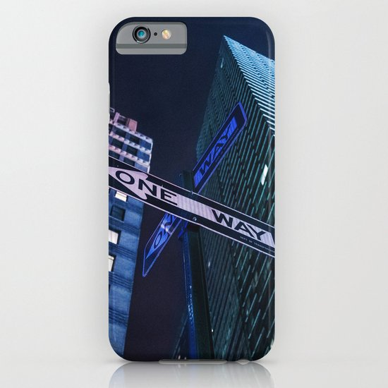 One Way NYC iPhone & iPod Case