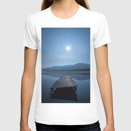 Moon over Lough Aubha T-shirt