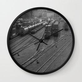 Railyard Wall Clock