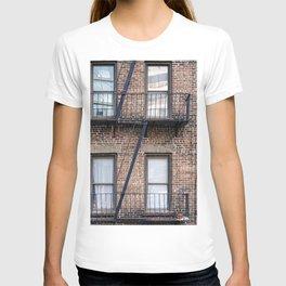 New York Fire Escape T-shirt