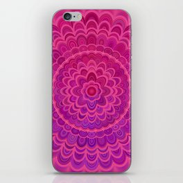 Love Mandala iPhone Skin