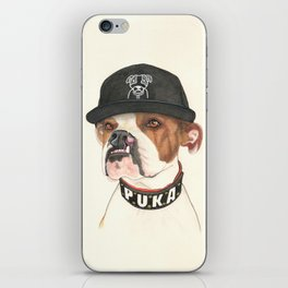 Boxer dog - F.I.P. - @chillberg (#pukaismyhomie)  iPhone Skin