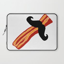 Bacon Stache Laptop Sleeve