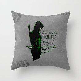 Vigilante Throw Pillow