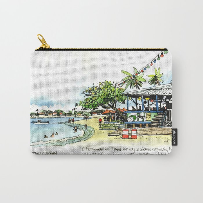 Calico Jack's, Grand Cayman (with notes) Carry-All Pouch