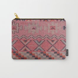 V21 New Traditional Moroccan Design Carpet Mock up. Carry-All Pouch