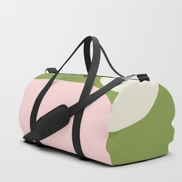 Simply Pink and Green  Duffle Bag