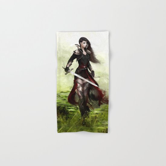 Lady knight Hand & Bath Towel
