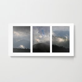 Clearing Storm, Transitions... Metal Print