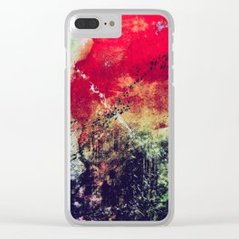 The Taste of Citrus Edit Clear iPhone Case