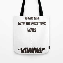 In the end... Tote Bag
