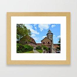 Nuremberg Imperial Castle Framed Art Print